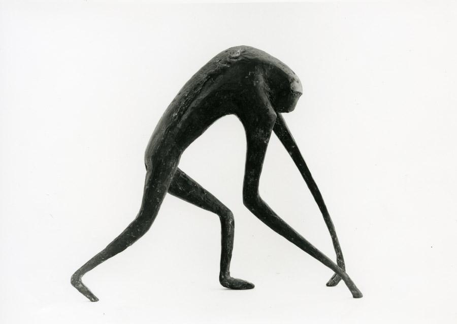 Laufender Affe