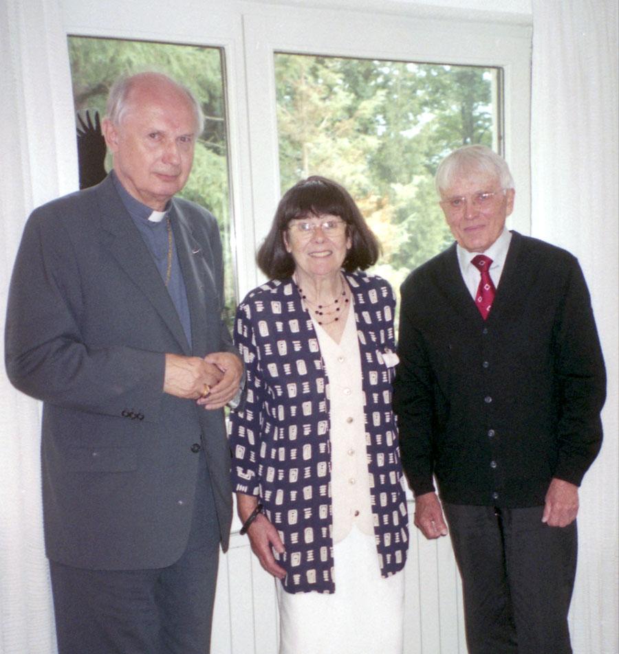 Mit Bischof Dr. Egon Kapellari, Österreich