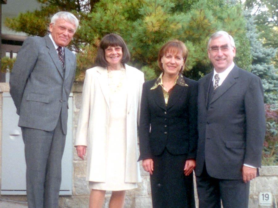 Mit Bundesfinanzminister a.D. Dr. Theo Waigel und Dr. Irene Epple-Waigel