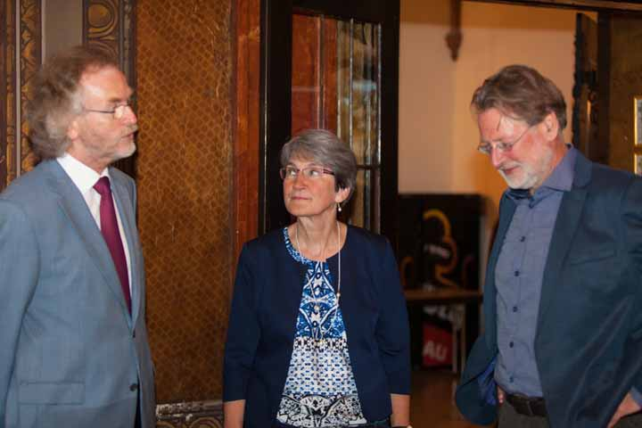 Stiftungsratsmitglied Dr. Heiner Feldkamp und Gattin, Stiftungsratsmitglied Dr. Winfried Helm